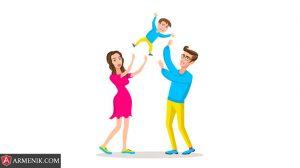 زندگی با والدین ارمنی