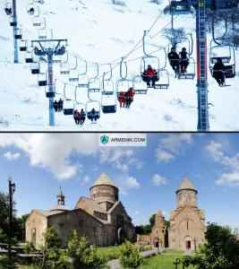 Tsaghkadzor Rope Way Armenia