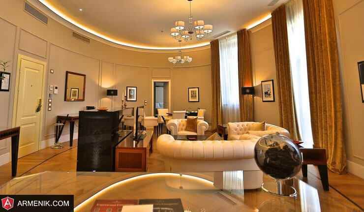 لوکس ترین هتل های پنج ستاره ارمنستان 2019