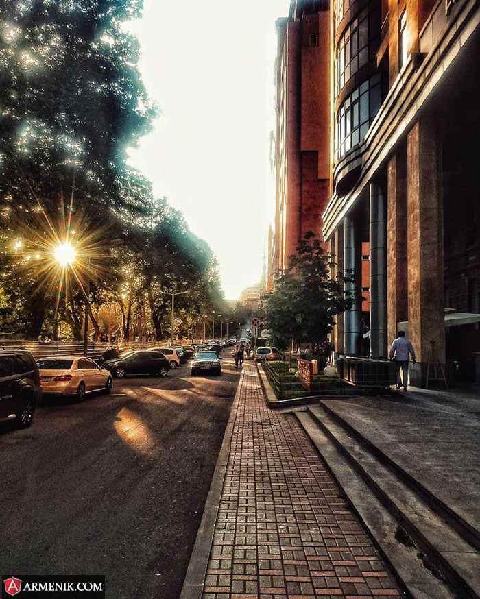 Arami Street Yerevan