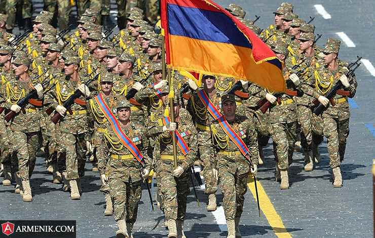 Armenia Army Day