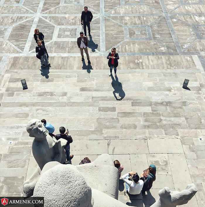 Armenia Statue
