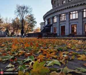Autumn Yerevan Armenia