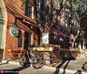 Cafe Cascade Yerevan Armenia