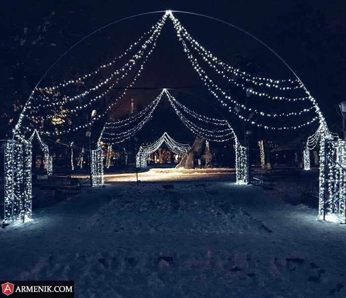 Christmas Yerevan Armenia