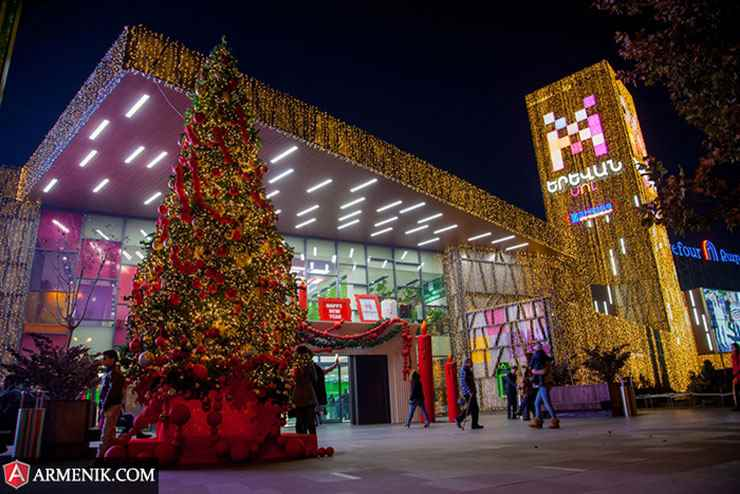 Christmas in Yerevan Armenia