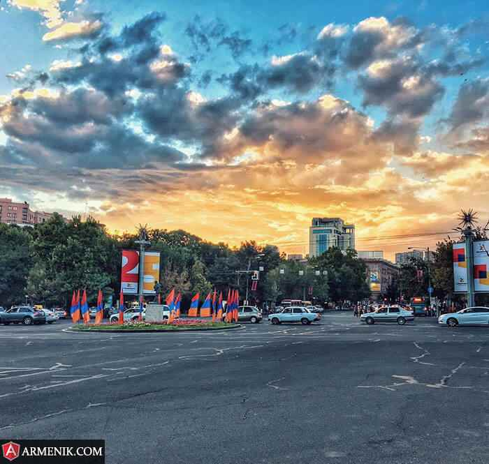 France Square Yerevan Armenia