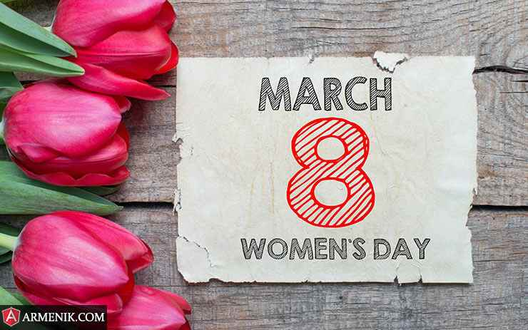 March 8 Women's Day Armenia