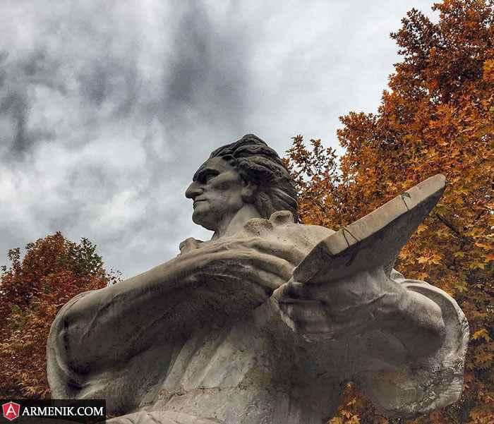 Martiros Saryan Statue Yerevan