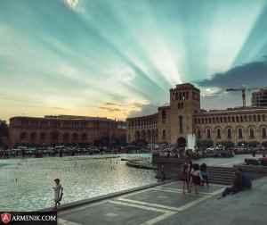 Republic Square Yerevan Armenia