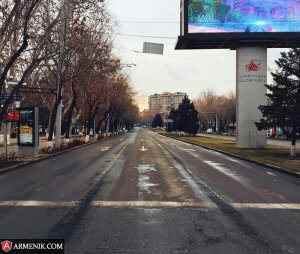 Sayat Nova Street Yerevan