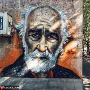 Streetart Sos Sargsyan Yerevan Armenia