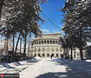 Yerevan Opera Theatre Winter