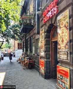 armenia carpet shop