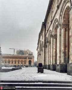 good morning armenia winter