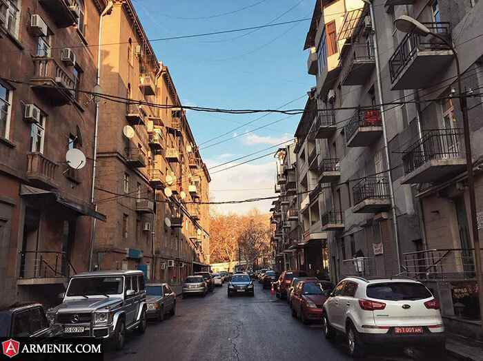 yerevan downtown street